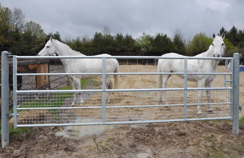 Sas le roux gamme l vage des chevaux - Barrire de jardin d occasion ...